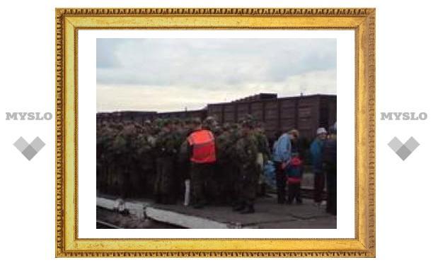 Тульские десантники вытеснили дачников