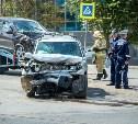 В Туле в ДТП на проспекте Ленина пострадали мужчина и ребенок