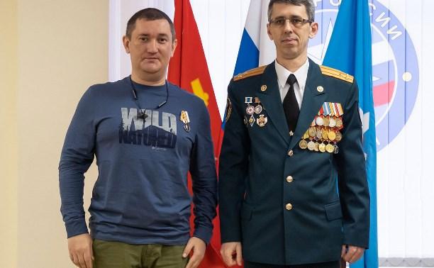 Корреспондента Myslo наградили медалью МЧС России «За пропаганду спасательного дела»