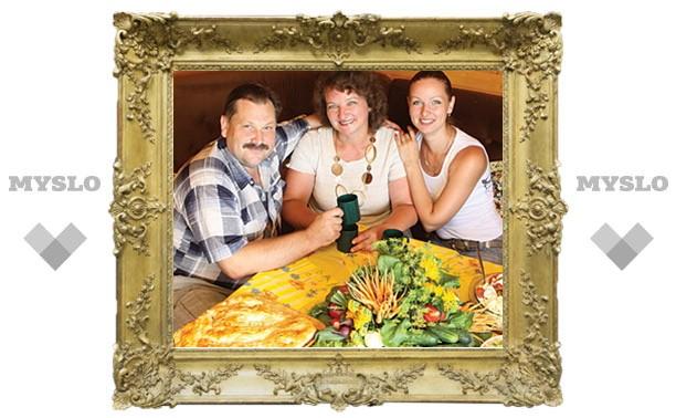 Семейный обед: дачный вариант