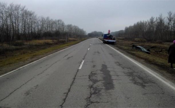 Превышение скорости стало причиной смертельного ДТП в Тульской области