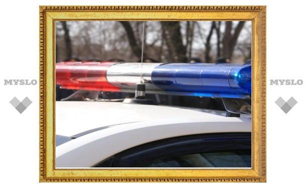 В Тульской области майор полиции попал в ДТП