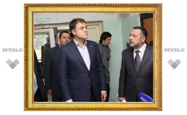 Губернатор вновь поехал по Тульской области
