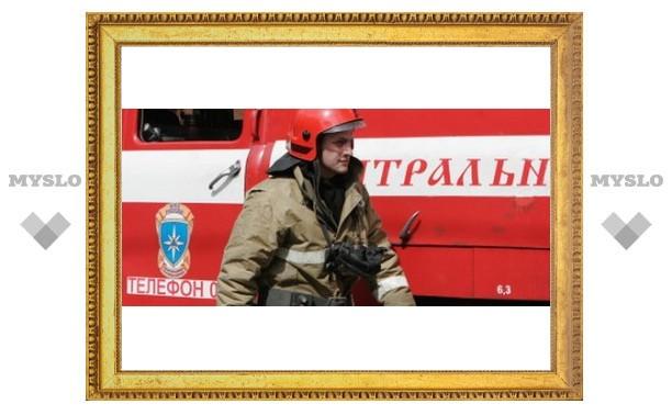 Пожарные вынесли пенсионера из огня
