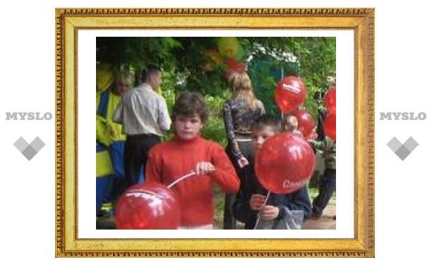 Тульским детям-сиротам устроили праздник
