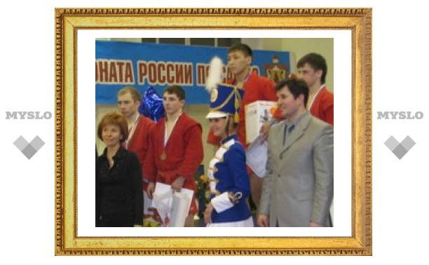 Тульский борец стал третьим в России