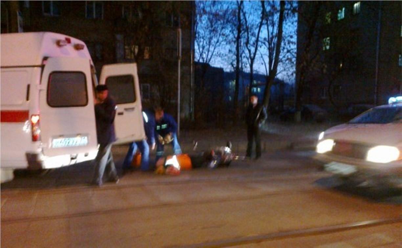 На улице Тульского рабочего полка автобус сбил велосипедиста