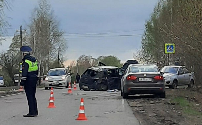 Под Тулой опрокинулся Renault Sandero: погиб младенец
