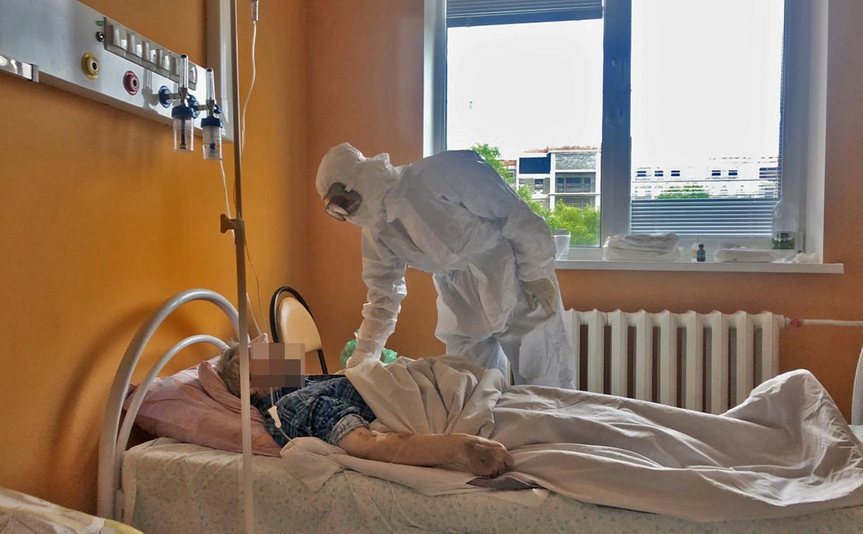 Репортаж из «красной  зоны»: как устроен коронавирусный  госпиталь в Туле