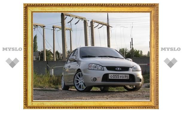 Самым популярным авто в России стала Lada Kalina