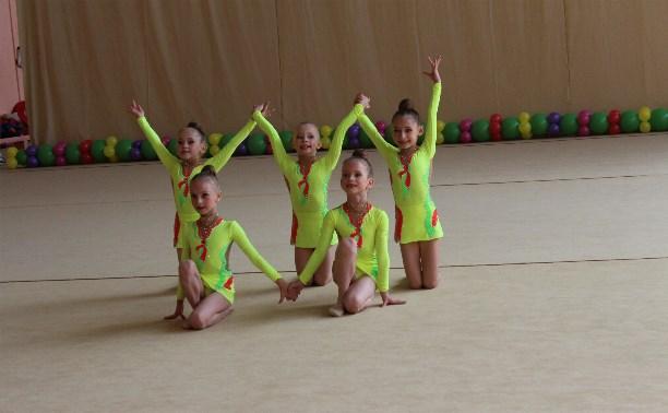 Юные тульские гимнастки первенствовали в Обнинске