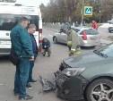 В Туле в ДТП с маршруткой пострадала женщина