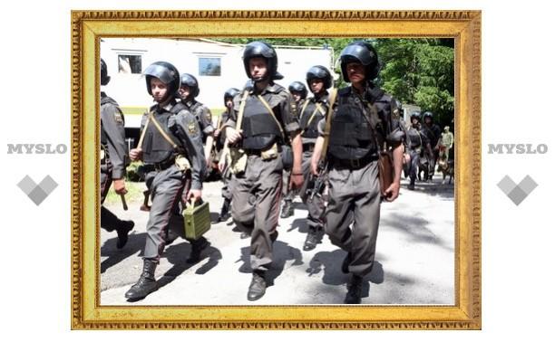 Под Тулой обезврежены «террористы»