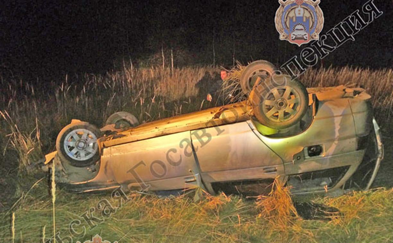Появились фото с места гибели двух человек из-за лося на дороге
