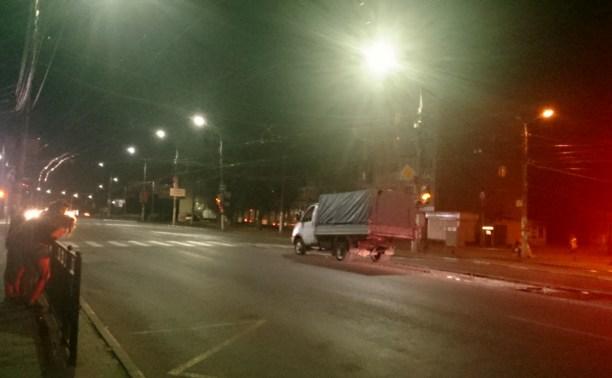 Ночные гонки в Туле закончились ДТП с двумя пострадавшими