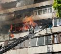 На ул. Ложевой в Туле загорелась квартира