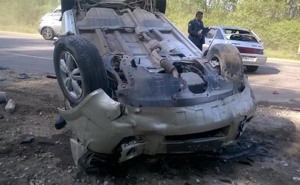 За выходные в авариях пострадали семеро несовершеннолетних