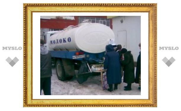 Где в Туле купить дешевое молоко?