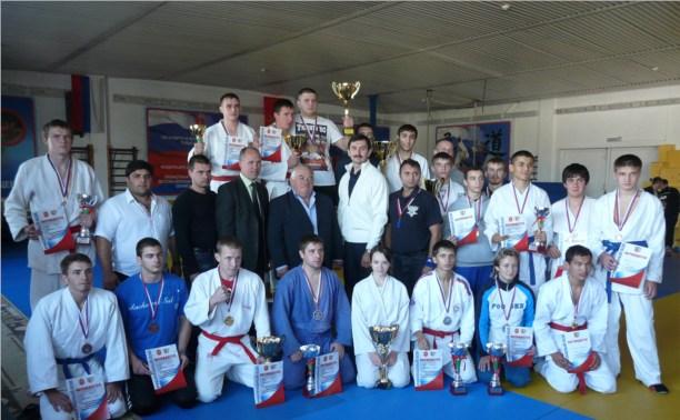 Определены чемпионы Тульской области по рукопашному бою