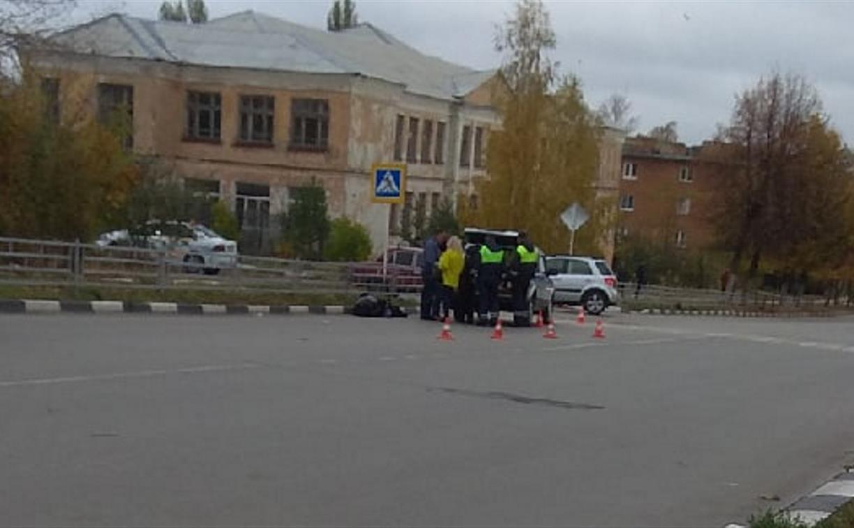 В Ефремове водитель насмерть сбил женщину и скрылся