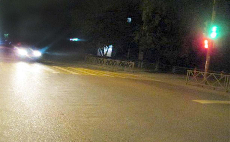 В Туле водитель сбил ребенка и скрылся с места ДТП