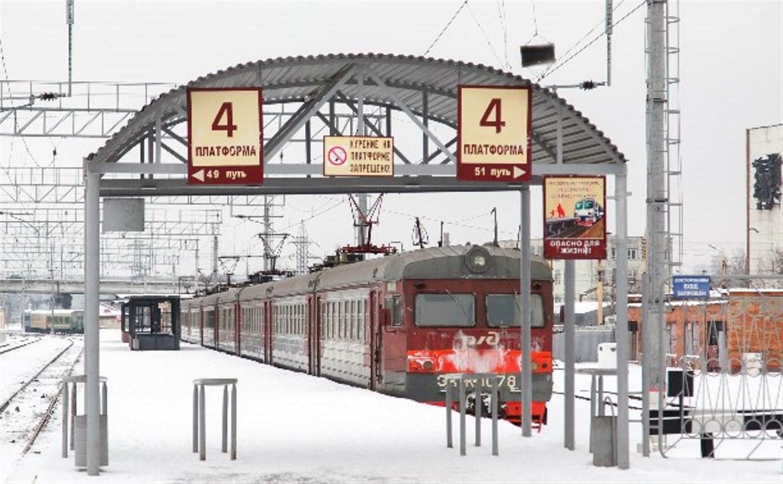 В новогодние праздники изменится расписание движения пригородных поездов