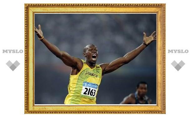 Усейн Болт установил новый мировой рекорд на стометровке