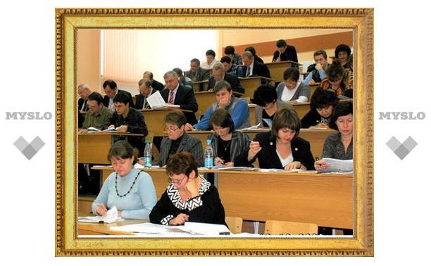 В Тульской области переподготовка учителей будет проходить дистанционно