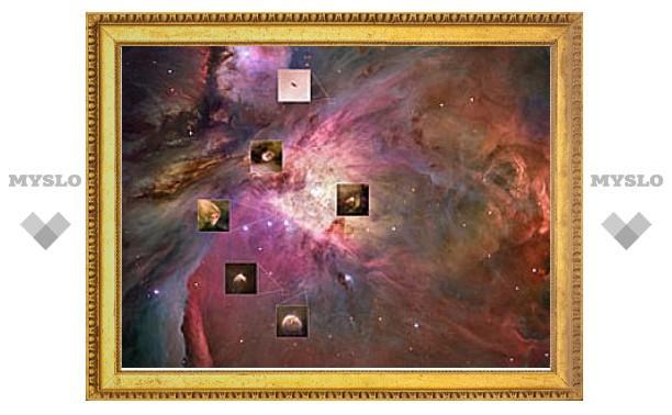 """""""Хаббл"""" сфотографировал сразу 30 протопланетных дисков"""
