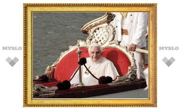 Бенедикт XVI посетил Аквилею и Венецию