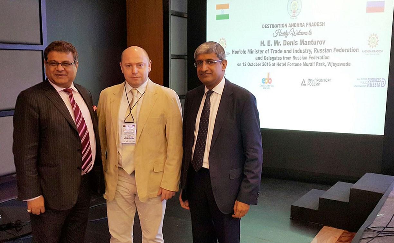 Тульская область может начать сотрудничество с Индией