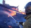 Вечером 28 марта в Щекинском районе сгорел дом