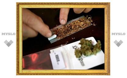Под Тулой милиционеры дважды купили марихуану