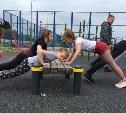 На Пролетарской набережной в Туле прошла открытая фитнес-тренировка