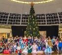 В Тульском музее оружия поздравили с Новым годом особых детей
