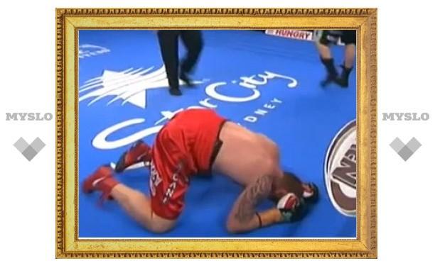 Боксера оштрафовали за нокаут на 29-й секунде