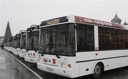 В Туле обновят парк общественного транспорта