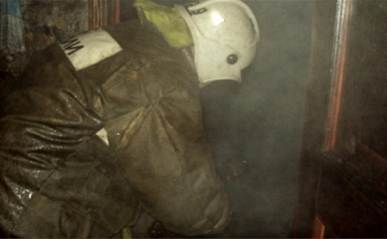 Ночью на пожаре в Белёве пострадал человек