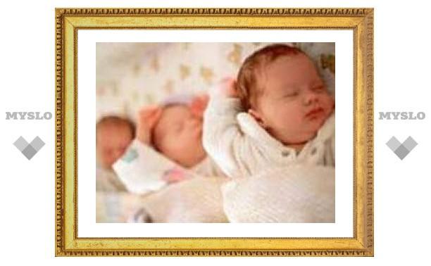 В Австрии родились однояйцевые тройняшки