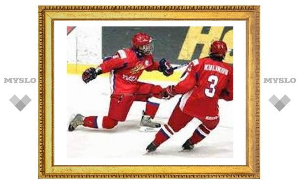 Россия выиграла чемпионат мира по хоккею среди юниоров
