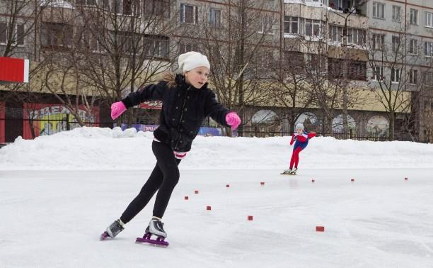 Тульские конькобежцы отлично выступили на домашнем «Мемориале Гришина»
