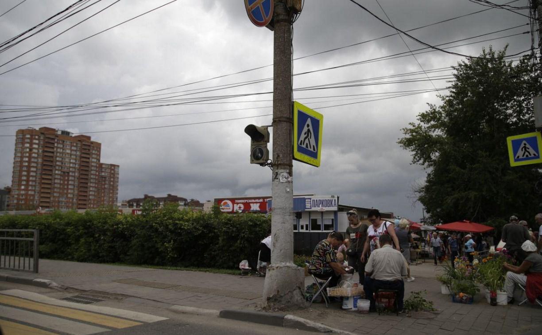 В Туле на пересечении пр. Ленина и ул. Н. Руднева не работает светофор