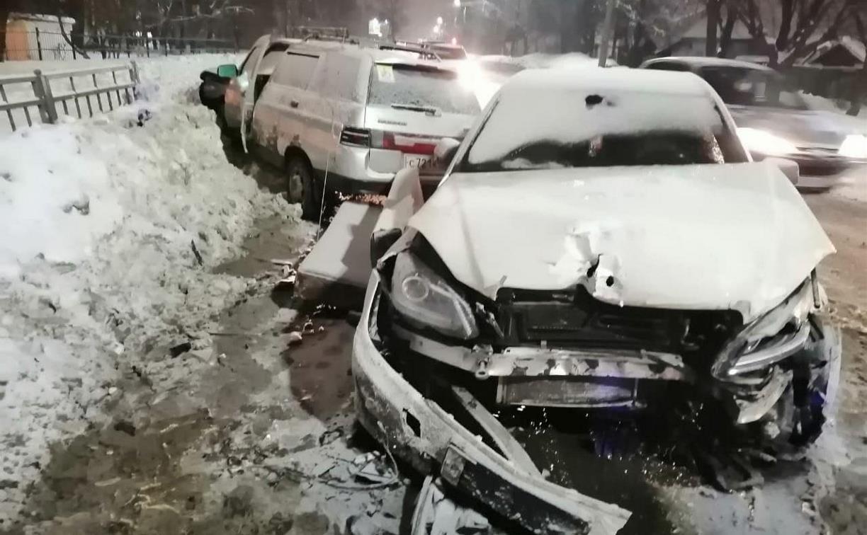 За неделю на улицах Тулы произошло 293 автоаварии