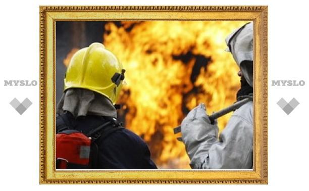 В страшном пожаре в Тульской области погибли три человека