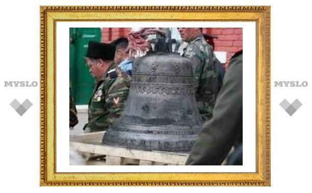 Под Тулой отлили колокол для подмосковного храма