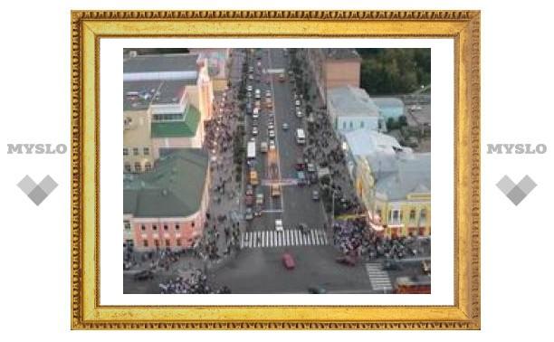 Проспект Ленина - самая опасная дорога Тулы