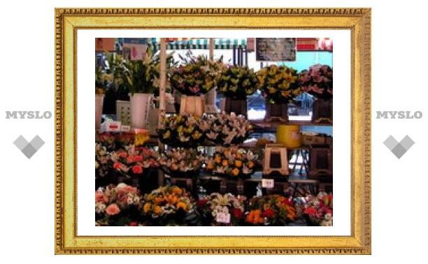 В Туле закроют цветочный рынок?