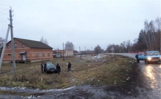 В ДТП под Кимовском погиб человек