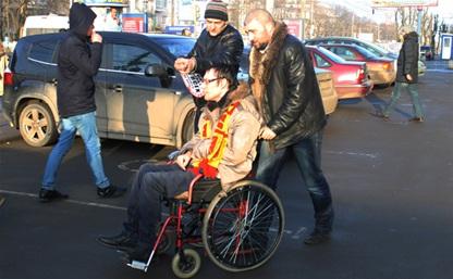 Тульские «СтопХамы» проверили парковочные места для инвалидов