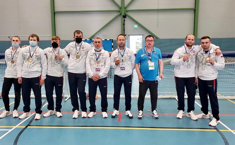 Тульские голболисты выступили на чемпионате Европы